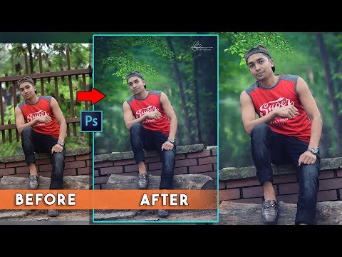 Photoshop Tutorial : Outdoor Portrait editing Natural Stylize photograpy 📷 thumbnail