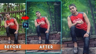 Outdoor Natural Photo Editing Best Tutorial || Natural Color Matching Filter Effects
