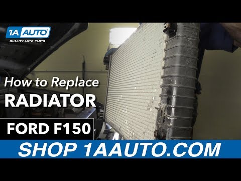 How To Replace Radiator 97-04 Ford F150