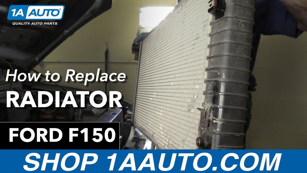 How to replace install radiator 1998 ford f150 buy quality auto parts at 1aauto com