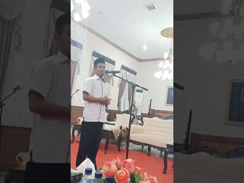 Sambutan Rois 'Am Al-Falah Dempo Barat Di Pendopo Pamekasan