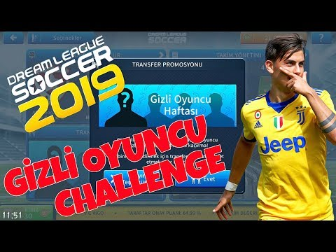 Gizli Oyuncu Challenge - Dream League Soccer 2019