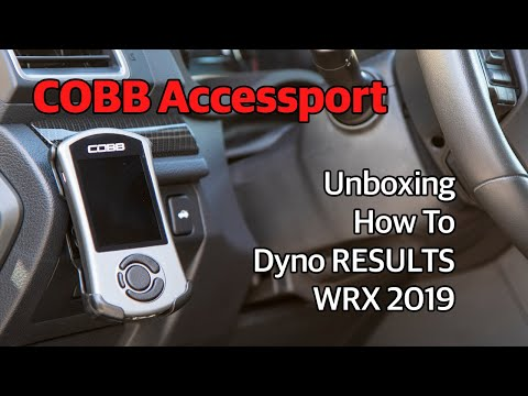 COBB Accessport Unboxing | How to Install | Dyno RESULTS Subaru WRX