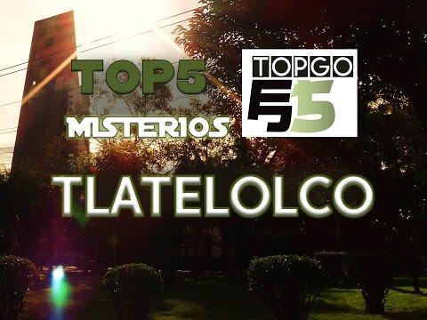 TOP5 misterios, tasmas y leyendas de TLATELOLCO