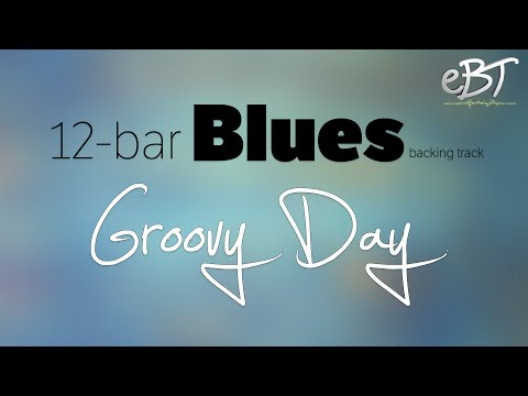 12 Bar Blues Backing Track in A Major | 100 bpm