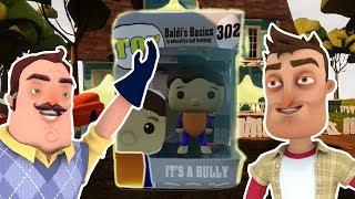 BALDI'S BASICS BULLY POP! Figure | Hello Neighbor Toy Mod