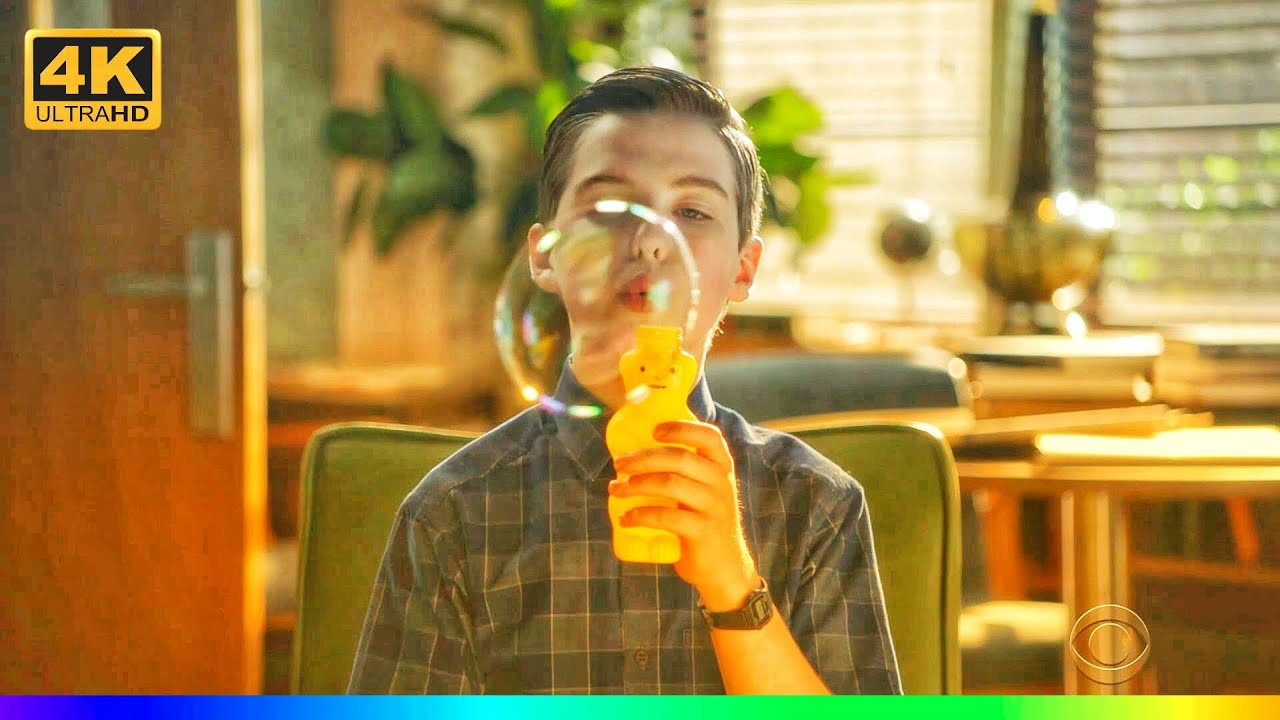 Download Young Sheldon Season 4 Episode 8   when sheldon start making bubble infront of his teacher