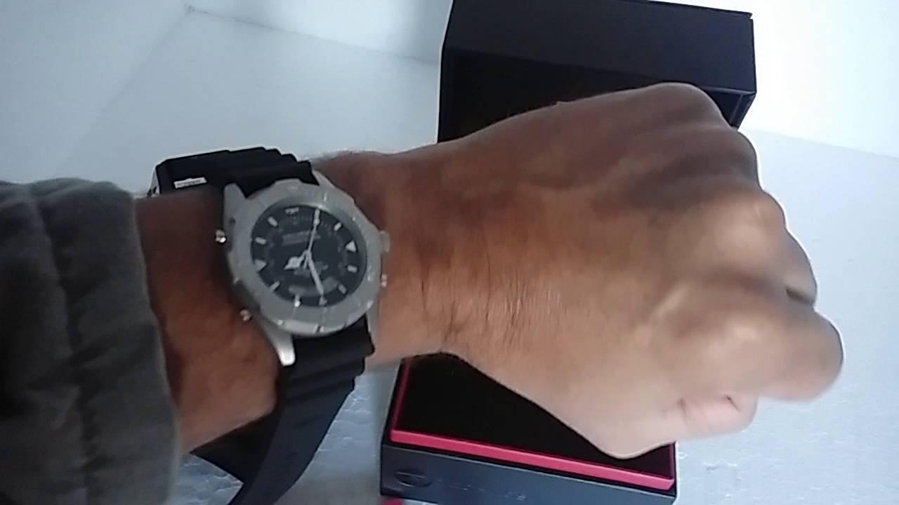 78c0c3489b1 Relógio Masculino Technos Skydiver T20562 8P Pulseira de Silicone ...