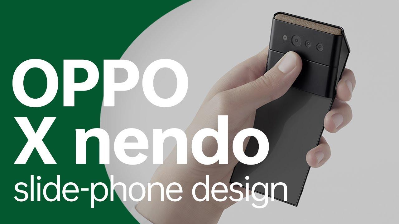 """""""slide-phone"""" Design   OPPO x nendo"""