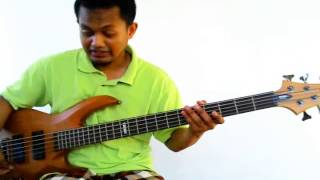 esp ltd b 205 bass demo