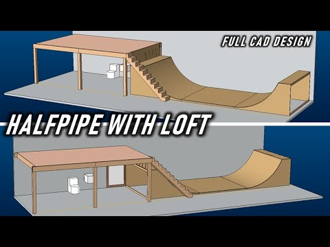 I'm Building A HALFPIPE WITH LOFT In My GARAGE!