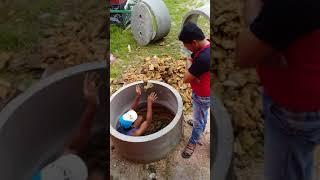 Cara memasang gorong-gorong wc