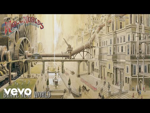 Jeff Wayne, Richard Burton, David Essex - Brave New World (Official Audio)