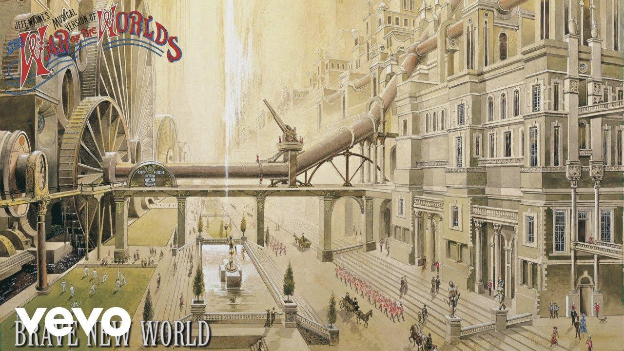 Jeff Wayne, Richard Burton, David Essex - Brave New World (Official Audio)  - YouTube
