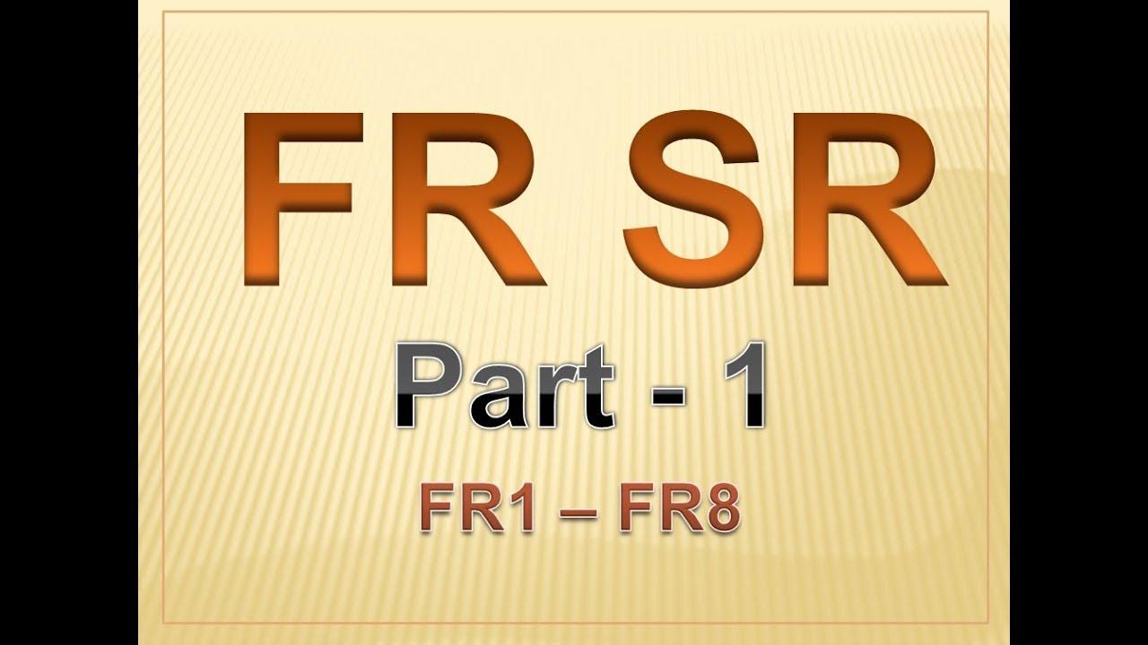 Frsr Part I General Rules Pdf
