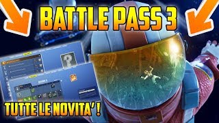TUTTE le NOVITA' del PASS Battaglia STAGIONE 3 di Fortnite Battle Royale