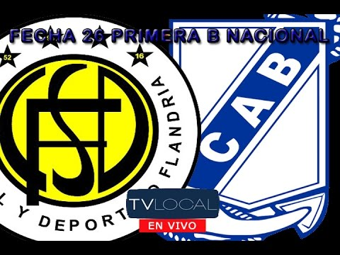 Flandria Vs Guillermo Brown | EN VIVO Fecha 26 Primera B Nac