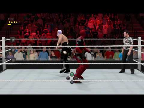 WWE 2K17: Deadpool vs G.Cruz Online