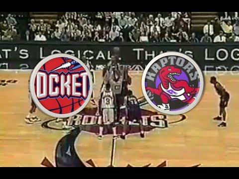 Houston Rockets (18-9) VS Toronto Raptors (12-13) | 1998-1999 | NBA | Carter rookie high