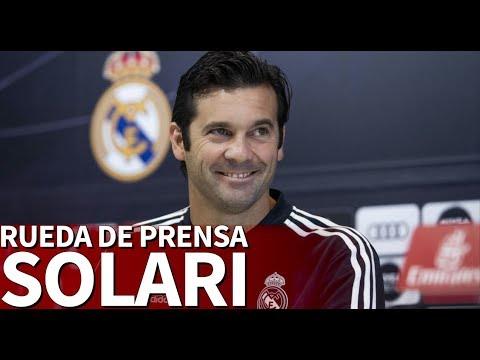 Rueda de prensa de Solari en directo | Diario AS