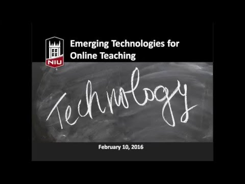 Emerging Technologies for Online Learning