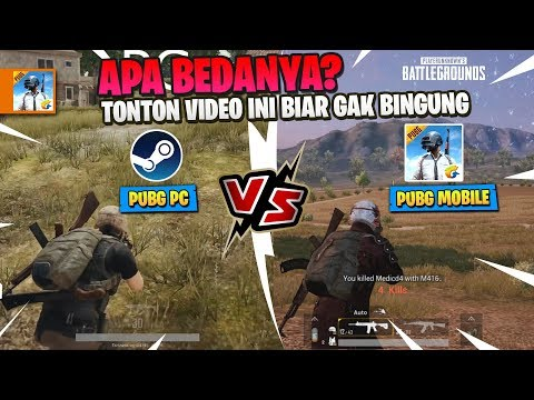 Perbandingan PUBG PC vs PUBG Mobile - APA BEDANYA ? - Phone Games