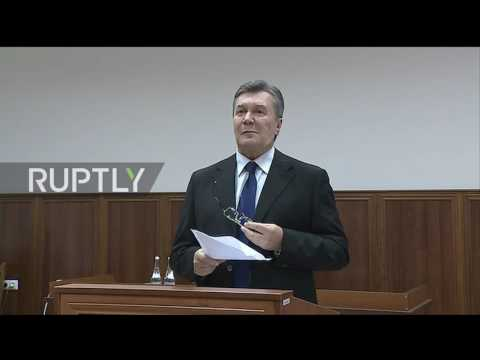 Russia: Yanukovych denies giving orders to shoot Maidan protesters