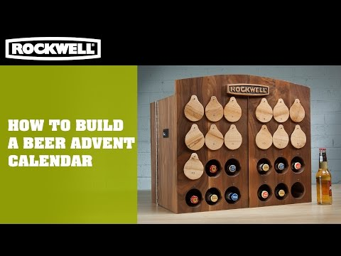 How to Build a Beer Advent Calendar | Rockwell Tools