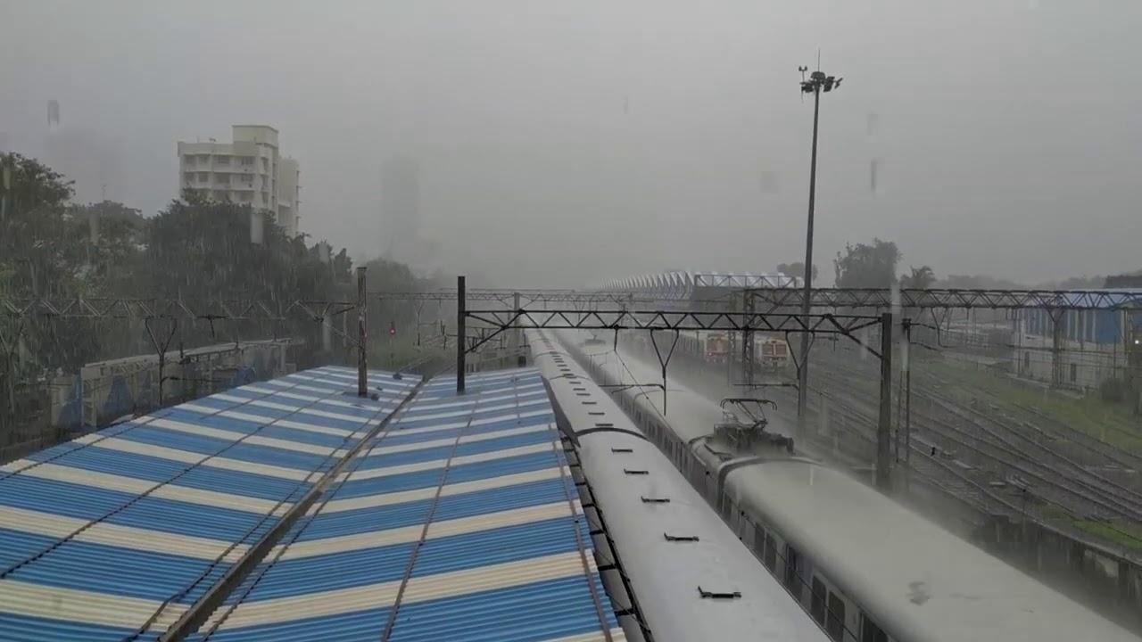 Mumbai Local Train Heavy Rainfall 2019 Mumbai Max.