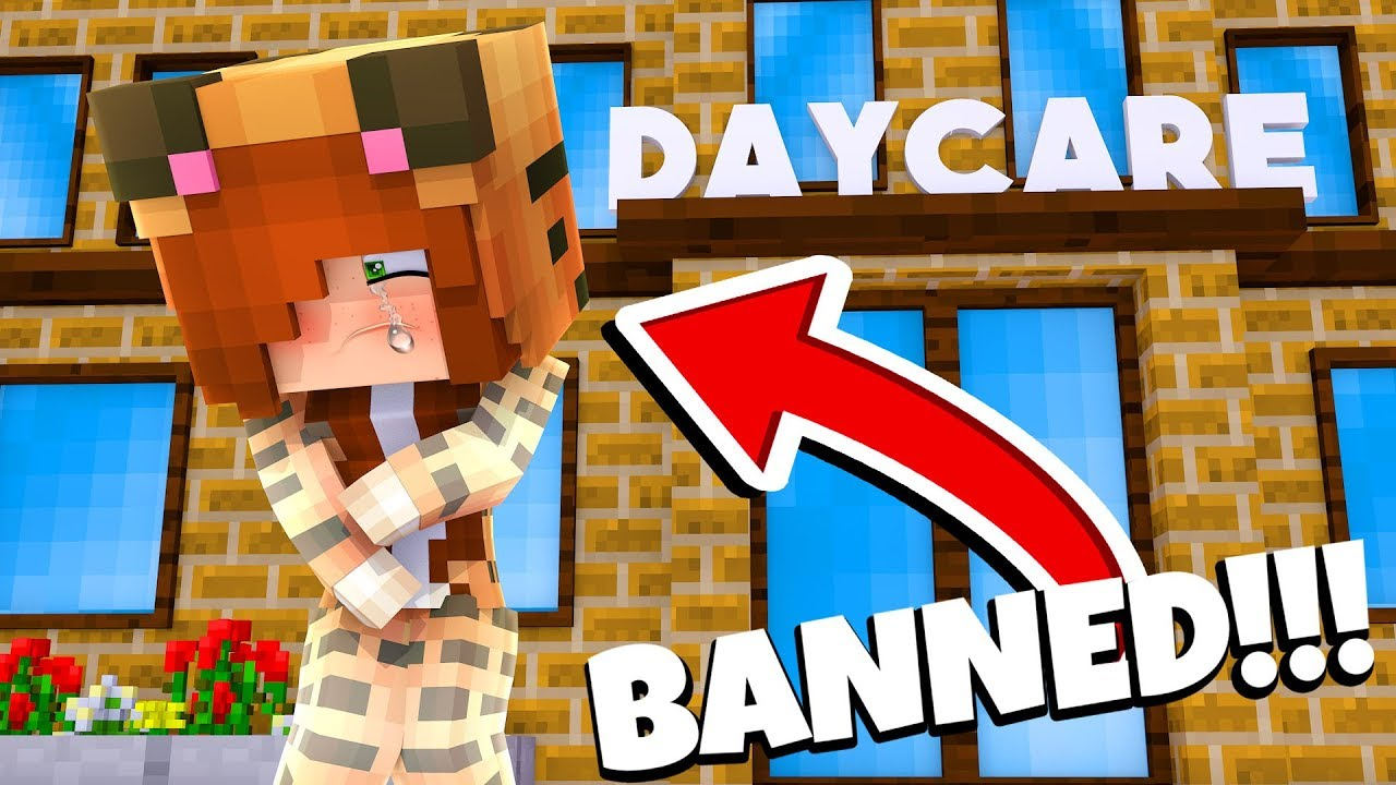 Minecraft Daycare - TINA IS BANNED !? (Minecraft Roleplay