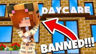 Minecraft Daycare - TINA IS BANNED !? (Minecraft Roleplay)