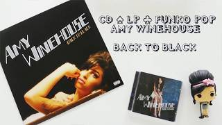 FUNKO POP ♧ CD LP VINYL AMY WINEHOUSE BACK TO BLACK