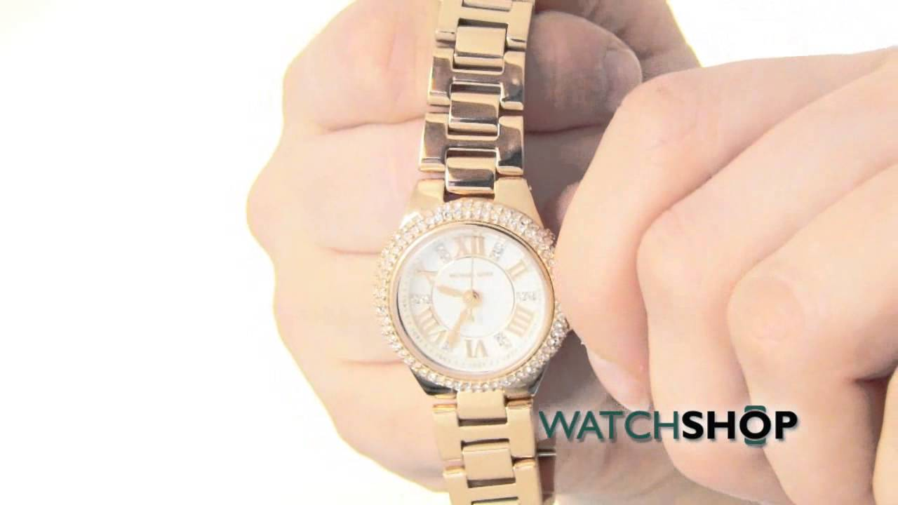 bd9ec236bad2 Michael Kors Ladies  Mini Camille Watch(MK3253) - YouTube
