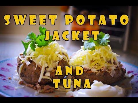How To Make Sweet Potato Jacket & Tuna