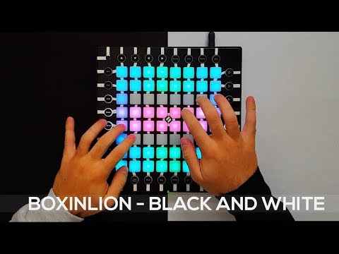 BOXINLION - Black and White (feat. MJ Ultra) - Launchpad Pro Cover