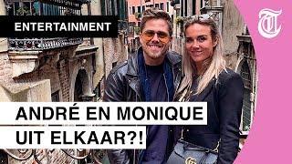 Zijn dit bewijzen dat André Hazes en Monique toch uit elkaar zijn?