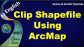 How to Clip shapefile in ArcMap by Dr Rohit Chauhan