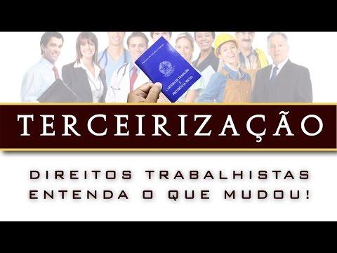 Contratos terceirizados no setor pГєblico