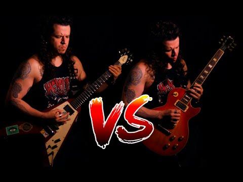 Gibson Flying V VS Gibson Les Paul!!!