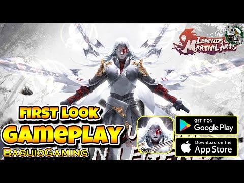 Legends Of Martial Arts - Gameplay Fantastic MMORPG Game