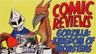 Godzilla: Kingdom of Monsters - MIB Comic Reviews Ep 8