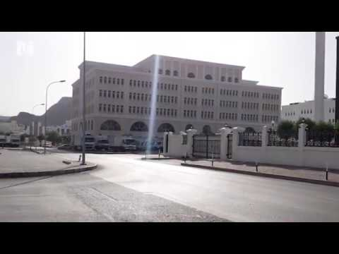 Ruwi streets empty on the second day of Muscat Governorate lockdown