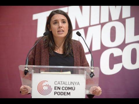"""Irene Montero en Terrassa: """"Catalunya es un motor de cambio para España y siempre lo ha sido"""""""