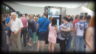 Смотреть видео [Псв 22] Попали под дождь в московском парке зарядье, в куполе зарядья и медиа-центр, концертный зал онлайн