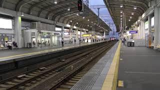 神宮丸太町駅で人身事故発生(20180809)① *寝屋川市駅にて thumbnail