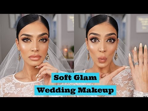 Bridal Wedding Makeup Tutorial 2018