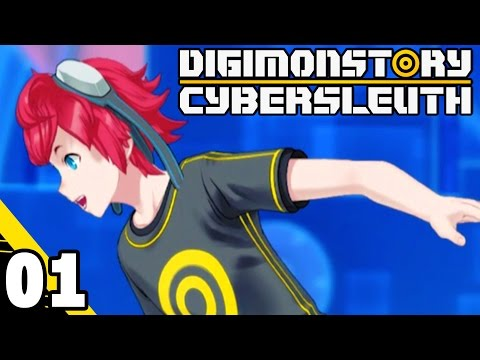 Digimon Story: Cyber Sleuth Part 1 HACKERS! PS4 Gameplay Wal