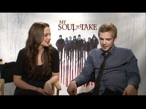 with Emily Meade and Max Theriot for My Soul To Take