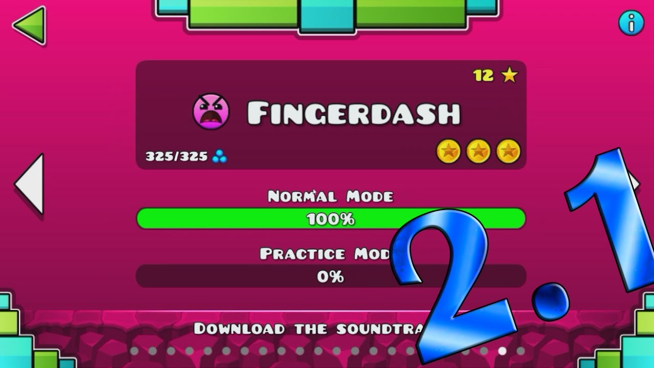 geometry dash full version 2.1 apk download