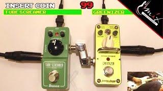 pedala tomsline agr 3 greenizer vs tube screamer